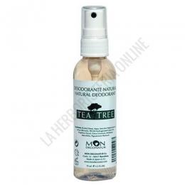 Desodorante natural Árbol del té y salvia Mon Deconatur spray 75 ml.