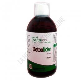 Detoxlider líquido Naturlider 500 ml. - Detoxlider de Naturlíder es una composición muy completa y específicamente formulada para ayudar al organismo a eliminar las toxinas acumuladas, movilizándolas y propiciando su metabolización, para ser neutralizadas y convertidas a formas menos tóxicas y asegurar su excreción y eliminación.