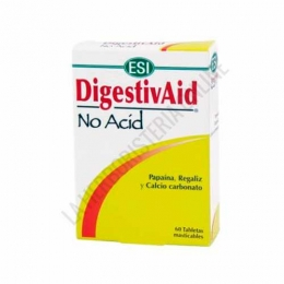 DigestivAid No Acid acidez estomacal Esi 60 comprimidos masticables