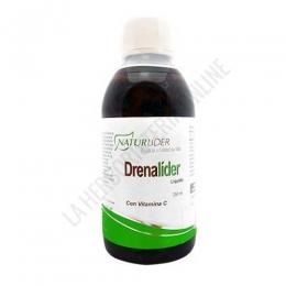 Drenalider líquido Naturlider 250 ml. - Drenalíder de Naturlíder es un muy buen aliado para conseguir depurar el organismo en caso de retención de líquidos, gracias al efecto depurativo y drenante de su composición, a base de extractor naturales.