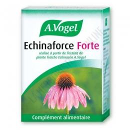 Echinaforce Forte A. Vogel 30 comprimidos - Echinaforce Forte de A. Vogel es un complemento ideal para el invierno, al aportar 750 mg. de Echinacea de cultivo biológico y de práctica toma (1 comprimido al día).