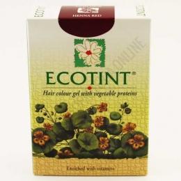 Ecotint ROJO HENNA - Tinte permanente sin amoníaco