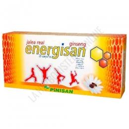Jalea Real con Ginseng Energisan Pinisan 1000 mg. 20 viales