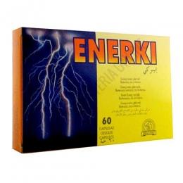 Enerki Laboratorios Abad (anteriormente Kiluva) 60 cápsulas - Enerki de Kiluva es un complejo energético a base de Ginseng coreano de 6 años, Jalea Real y Eleuterococo, ideal para aumentar la resistencia a la fatiga corporal, la capacidad de reacción y el rendimiento.  PRODUCTO DESCATALOGADO POR EL LABORATORIO FABRICANTE. Como alternativa sí disponible le recomendamos: Exotique Plus -Pulse aquí para ver el producto.