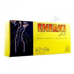 Enerki Plus Laboratorios Abad (anteriormente Kiluva) 14 viales - Enerki de Kiluva es un complejo energético a base de Ginseng coreano de 6 años, Jalea Real y Eleuterococo, ideal para aumentar la resistencia a la fatiga corporal, la capacidad de reacción y el rendimiento. Enerki de Kiluva es un complejo energético a base de Ginseng coreano de 6 años, Jalea Real y Eleuterococo, ideal para aumentar la resistencia a la fatiga corporal, la capacidad de reacción y el rendimiento. PRODUCTO DESCATALOGADO POR EL LABORATORIO FABRICANTE.