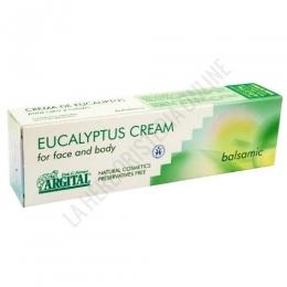 Crema Eucalyptus balsámica Argital 50 ml. - Eualyptus Cream de Argital es una crema aromática de acción balsámica para utilizar en cara y cuerpo, a base de aceite esencial puro de eucalipto y gel de arcilla verde.