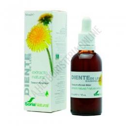 Extracto de Diente de Leon XXI  Soria Natural 50 ml. con dosificador