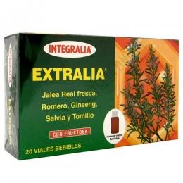 Extralia Jalea Real con Ginseng y hierbas Integralia 20 viales