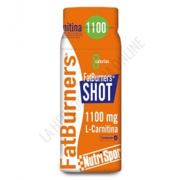 Fatburners Shot L-Carnitina Nutrisport 1100 mg. 60 ml.