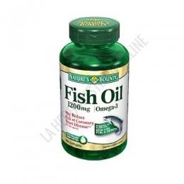 Aceite de Pescado Desodorizado Omega-3 Natures Bounty 90 perlas - Cápsulas desodorizadas de aceite de pescado, rico en Omega 3 EPA y DHA