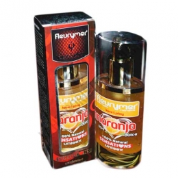Gel lubricante 100% natural Naranja Sensations Fleurymer 50 ml.