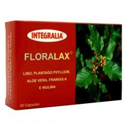 Floralax tránsito intestinal Integralia 60 cápsulas -
