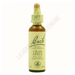 Flores de Bach Originales 10 Crab Apple - Manzano Silvestre 20 ml.