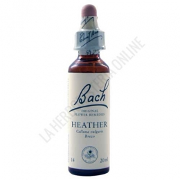 Flores de Bach Originales 14 Heather - Brezo 20 ml.