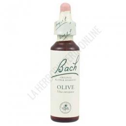 Flores de Bach Originales 23 Olive - Olivo 20 ml. - Nº 23 Flower Bach -  Aplicación: Ayudar emocionalmente al organismo en caso de sentimientos de agotamiento total, físico y/o mental.