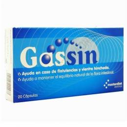 Gassin flatulencias y vientre hinchado Pharmadiet 20 cápsulas