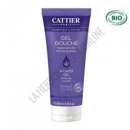 Gel de ducha dermo protector hidratante Cattier 200 ml. -