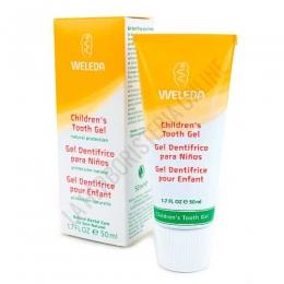 Gel Dentífrico para Niños Weleda 50 ml. - El Gel Dentífrico para niños de Weleda es específico para la limpieza de los dientes de leche, manteniéndolos sanos y equilibrando la flora bucal natural.