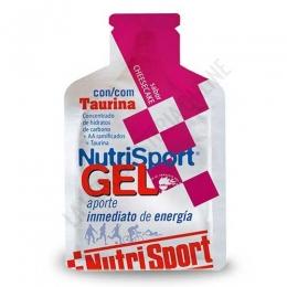 Gel con taurina Nutrisport sabor cheesecake 40 gr. - Nutrisport Gel con Taurina asegura un aporte de energía inmediato y prolongado gracias a su mecanismo de absorción sostenida y a la combinación en su fórmula de hidratos de carbono de cadena larga y corta.