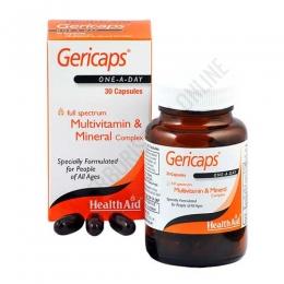 Gericaps Multinutriente Health Aid 30 cápsulas