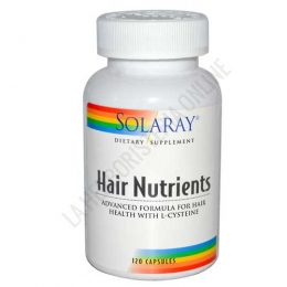 Hair Nutrients con L-Cisteína Solaray 120 cápsulas -