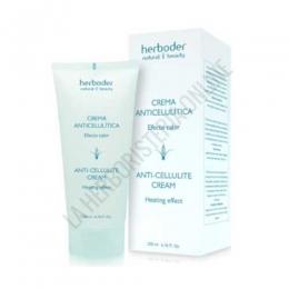 Crema anticelulitica efecto calor Herboder 200 ml.