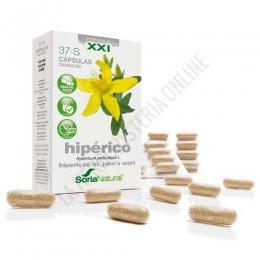 Hiperico XXI  37-S Soria Natural 30 cápsulas -