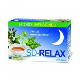 Infusión Relajante SD Relax Ynsadiet 20 infusiones -