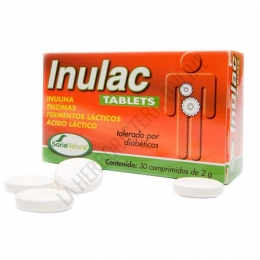 Inulac Tablets Soria Natural 30 comprimidos -