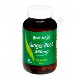 Jenjibre raíz estandarizado Health Aid 60 comprimidos