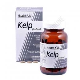 Kelp noruego Health Aid 240 comprimidos - Kelp Noruego de Health Aid constituye una fuente natural rica en yodo, aminoácidos, vitaminas, minerales y oligoelementos.