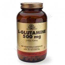 L-Glutamina en forma libre 500 mg. Solgar 250 cápsulas