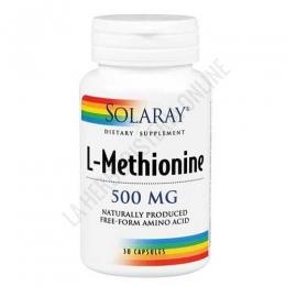 L-Metionina 500 mg. Solaray 30 cápsulas