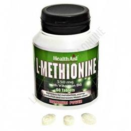 L-Metionina 550 mg. Health Aid 60 comprimidos