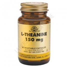 L-Teanina 150 mg. en forma libre Solgar 60 cápsulas