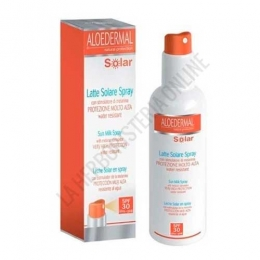 Leche Solar Corporal en spray SPF 30 Aloedermal ESI 150 ml.