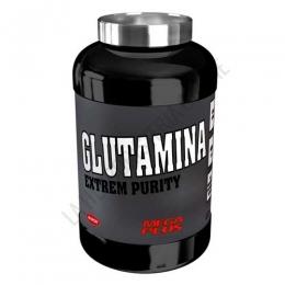 L-Glutamina Extrem Purity Mega Plus polvo sabor limón bote 600 gr. - La L-Glutamina en polvo Mega Plus sabor limón aporta este aminoácido (conocido por su capacidad para activar el crecimiento muscular) a partir de materias primas de altísima calidad. Envase de 600 gr.