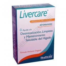 Livercare Health Aid 60 comprimidos - Livercare de Health Aid es una formulación única a base de hierbas y aminoácidos que contribuye a la limpieza y desintoxicación del hígado y resulta adecuado tanto para hombres como para mujeres.