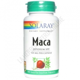 Maca Solaray 525 mg. 100 cápsulas