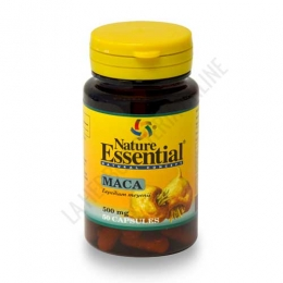 Maca 500 mg. Nature Essential 50 cápsulas