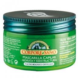 Mascarilla Capilar hidratante y reestructurante Corpore Sano 250 ml. -