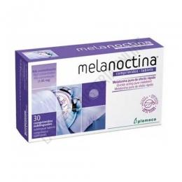 Melanoctina Melatonina pura 1,95 mg. Plameca 30 comprimidos sublinguales - Melanoctina comprimidos de Plameca contiene 30 comprimidos sublinguales de Melatonina Pura de efecto rápido y en alta concentración (1,95 mg.). Complemento ideal para ayudar a conciliar el sueño y aliviar los transtornos provocados por el jet-lag.