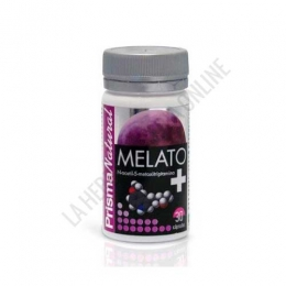Melato + Melatonina 1,8 mg. reforzada con plantas Prisma Natural 30 cápsulas -