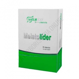 Melatolider melatonina 1 mg. Naturlider 30 cápsulas vegetales -