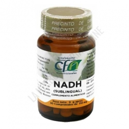 NADH sublingual 10 mg. CFN 30 comprimidos