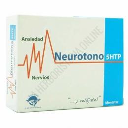 Neurotono 5-HTP Montstar Espa Diet 45 cápsulas - Neurotono de Espadiet está específicamente formulado para contribuir a aliviar la ansiedad y el estrés, gracias a la acción conjunta de la Rhodiola, la L-Teanina y el Triptófano.