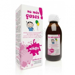 No más Gases niñ@S jarabe Soria Natural 150 ml. -