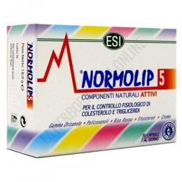Normolip 5 colesterol ESI 30 cápsulas