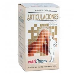 Nutriorgans Articulaciones Tongil 60 cápsulas - Nutriorgans Articulaciones en cápsulas contiene nutrientes específicos que ayudan a cuidar nuestras articulaciones de manera natural.