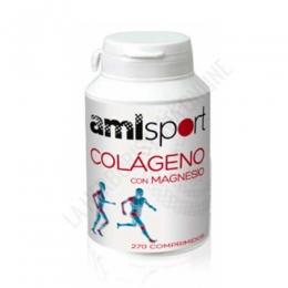 OFERTA Colágeno con Magnesio Amlsport 270 comprimidos - Colágeno con Mangesio AML Sport de Ana Maria Lajusticia es una formulación pensada para poder complementar el desarrollo de cualquier actividad física, sin hacer sufrir músculos, tendones o  articulaciones.